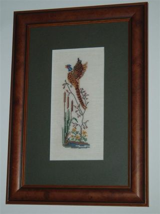 001 PHEASANT Eva Rosestand design (Medium)
