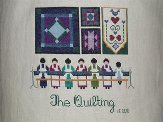 018 THE QUILTING 2010 Told in a Garden design (Medium)