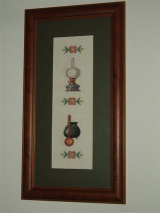 003 CAULDRON & LAMP (pair) 1979 Eva Rosenstand design (Medium)