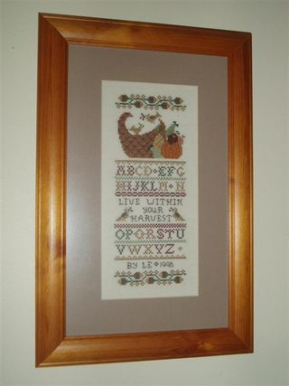 014 YOUR HARVEST 1996 Homespun Elegance design (Medium)
