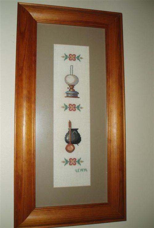 004 CAULDRON & LAMP (2) 1979 Eva Rosenstand design (Medium)