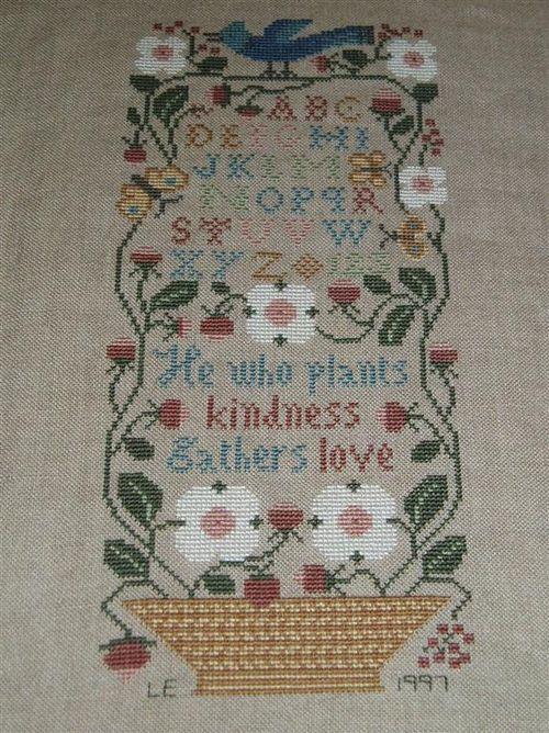 015 HE WHO PLANTS LOVE 1997 Prarie Schooler Garden Verses design (Medium)